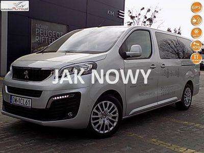 używany Peugeot Traveller 2dm3 150KM 2018r. 5 900km ACTIVE LONG 2,0 HDI 150KM/demo dealera/Navi, kamera i wiele innych