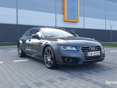 """używany Audi A7 3.0 TDI Quattro S-line Kamera Webasto Led Alu 20"""""""
