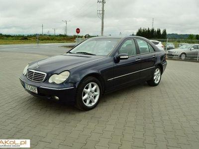 używany Mercedes 219 klasa C 3.2dm3 2002r.765km 3.2Benzyna/Skora/Szyberdach/Klimatyzacja