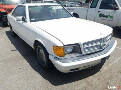 używany Mercedes 500 SEC 1985 klasyk