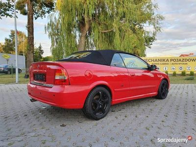 używany Opel Astra Cabriolet 1.8 125 km Niemcy