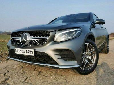 używany Mercedes GLC220 Coupe SalonPolska Bezwypadkowy 1 właściciel Super Wyposażenie