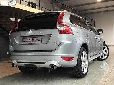brugt Volvo XC60 2.4dm3 215KM 2012r. 180 000km D5*AWD*R-Design*ACC*BLIS*xenon*skóra*215KM*serwis w ASO*zarejestrowane