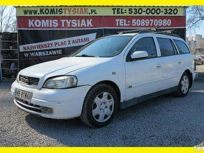 używany Opel Astra !!! Bemowo !!! 1.6 Benzyna, 2004 rok !!! EL. SZYBY EL. LUSTERKA !!! II (1998-2009)