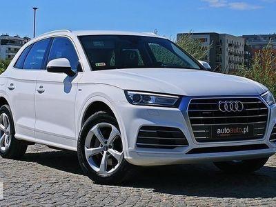 używany Audi Q5 III S line! VAT23% Leasing! Salon PL! Quattro! S-Tronic! 163KM! Gwarancj