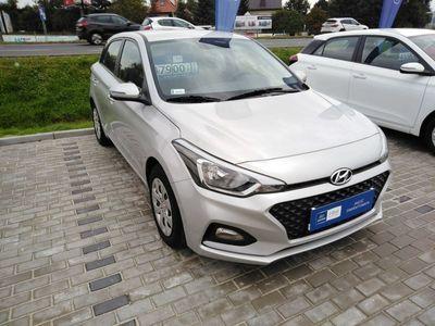 używany Hyundai i20 1.2dm3 84KM 2018r. 1 600km Classic Plus Bluetooth! Wyprzedaż rocznika w ASO