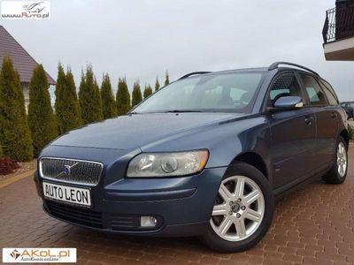 używany Volvo V50 2dm3 136KM 2006r. 226 263km 2.0 D 136 KM Navi Klimatronic Niemiec BdB