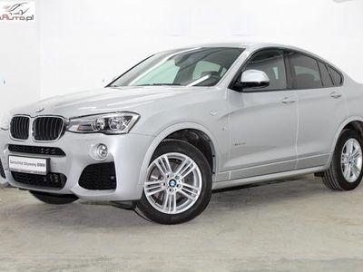 gebraucht BMW X4 2dm3 190KM 2018r. 31 915km xDrive20d 190KM M Pakiet Salon PL LED NAVI Kamera Skóra Gwarancja VAT