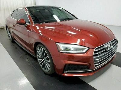 używany Audi A5 A52018 RED BENZ. 4 CYLINDER TURBO 252 KM 89701 KM F5 (2016-)