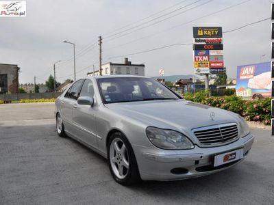 używany Mercedes S400 4dm 250KM 2000r. 205 173km