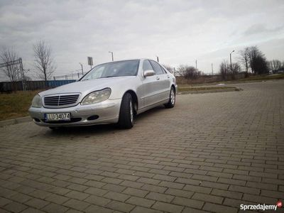 używany Mercedes S400