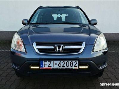 używany Honda CR-V II Bogata wersja z polsiego salonu, regularnie serwisowana z gazem, Zielona Góra
