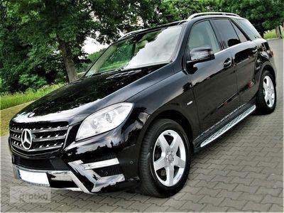 używany Mercedes 350 Klasa ML W1663,0 CDI AMG Bluetec, bezwypadkowy, serwisowany w ASO