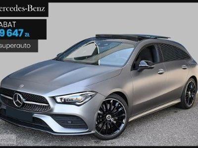 używany Mercedes CLA200 Klasa CLA Linia AMG 1.3(163KM) LINIA AMG | Premium Plus + Pakiet Night