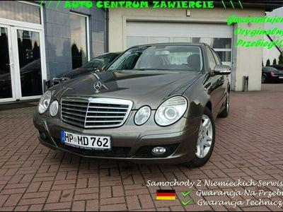 używany Mercedes E200 Klasa E W211Kompressor PełnySerwis Aso Mercedes Niemcy