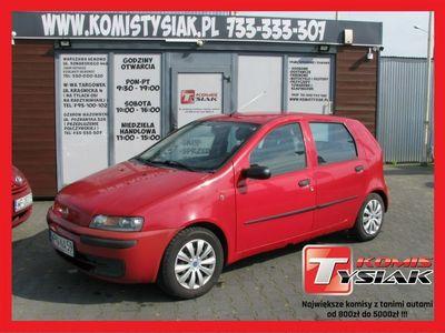 używany Fiat Punto !! KOMIS TYSIAK !! 1.2 Benzyna, 2002 rok produkcji!!WSPOMAGANIE CITY!! II (1999-2003)