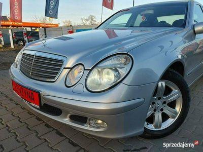 używany Mercedes E240 Piękny sedan zero korozji z Niemiec 2.6 v6 manual zapraszamy W211 (2002-2009)