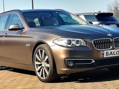 gebraucht BMW 535 SERIA 5 dA 313 xDrive Luxury Line Brąz Mat Model 2015'