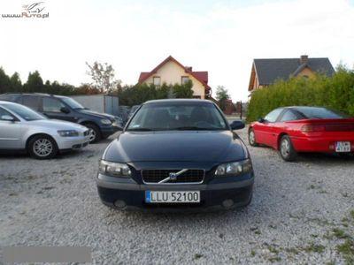 używany Volvo S60 Okazja 2.4 Okazja ręczna klima.
