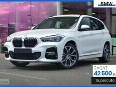 używany BMW X1 2.0 sDrive18d (150KM) | M SPORT + Nawigacja + Keyless + Czujniki par