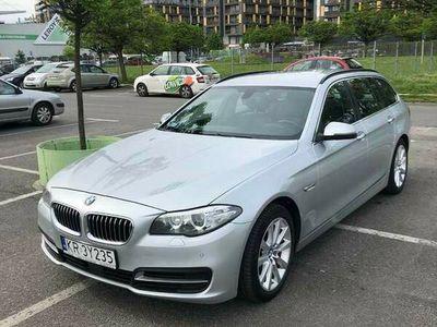 używany BMW 525 D Touring po liftingu, bezwypadkowy 2014r.