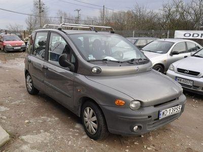 używany Fiat Multipla 1.6dm 103KM 2001r. 180 000km