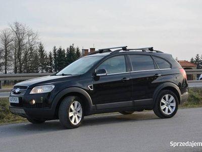 używany Chevrolet Captiva I 2.0 VCDI automat skóra gwarancja przebiegu 4x4 nowy rozrząd 7 osobow