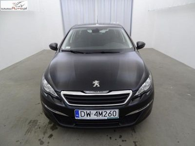 brugt Peugeot 308 1.6dm3 120KM 2017r. 15 567km 1.6 BLUEHDI Salon Polska ! 1 właściciel ! ASO ! FV23% !