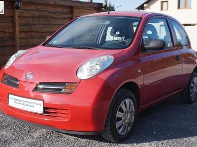 używany Nissan Micra 1.2dm3 65KM 2004r. 165 000km 1.2 B 65 KM Klimatyzacja
