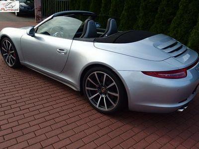 używany Porsche 911 911 3.8dm3 400KM 2014r. 26 000km4S Cabrio PDK Serwisowana Bogate wyposażenie