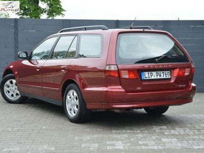 używany Mitsubishi Galant 2.5dm3 163KM 1998r. 230 654km 2.5 V6 163KM Automat **Nardi Torino ** 40 zdjęć - Oplacony