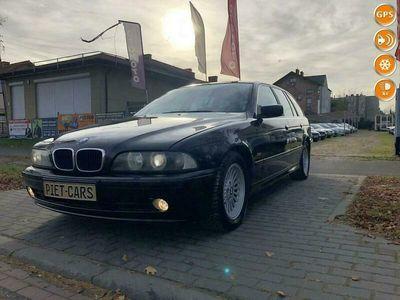 używany BMW 525 2.5 manual, jasna skóra, bogate wyposażenie, REJ256zł