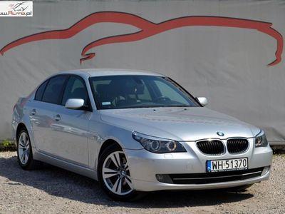 używany BMW 520 2dm3 177KM 2008r. 212 000km Lift/ Salon Polska/ Automat/ Skóra/ 177 KM
