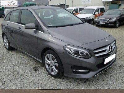 used Mercedes B180 klasa B 1.5dm3 109KM 2016r. 72 131kmAutomat, Navi, FV 23%, Gwarancja!!