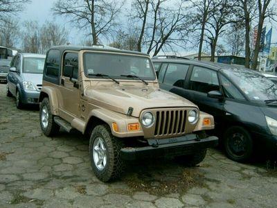 używany Jeep Wrangler 4dm 176KM 2000r. 259 049km