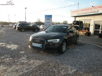 używany Audi A6 2dm3 190KM 2015r. 96 000km Salon Polska F-vat Navi Skóra Automat