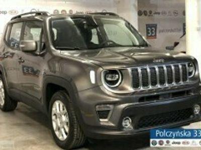 używany Jeep Renegade Face lifting Limited 1.3 150KM Automat   Grafitowy / Czarny fotel   2020