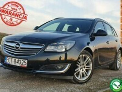 używany Opel Insignia Country Tourer I 2.0 CDTI pełen oryginał 102000km bezwypadkowa AUTOMAT gwarancja SERW