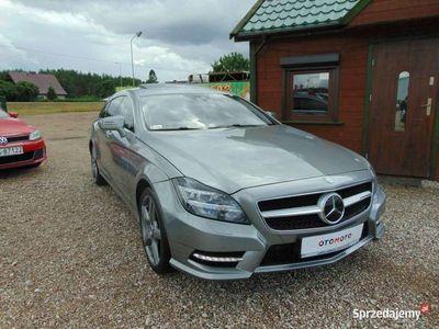 używany Mercedes CLS350 3dm 265KM 2013r. 135 000km