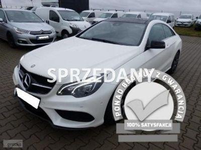używany Mercedes E200 Klasa E W212 MERCEDES - BENZCOUPE AUTOMAT / Benzyna / Alu / FV 23% / Gwara