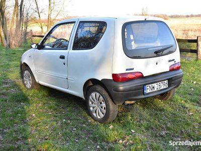 używany Fiat Seicento 1.1 Van LPG homologacja ciężarowa VAT-1