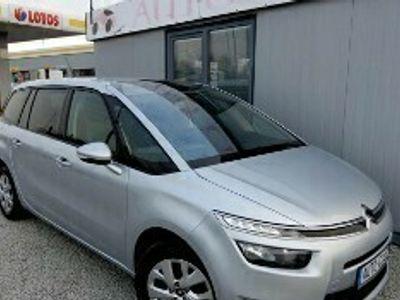 używany Citroën Grand C4 Picasso II E-Hdi 7-Osób Duża Navi PL Ledy Czujniki Tempomat Gwarancja