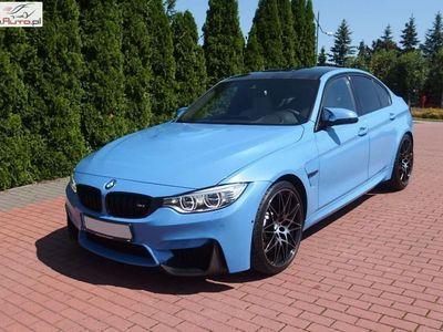 brugt BMW M3 M3 3dm3 431KM 2016r. 25 800km F80Drivelogic Carbon