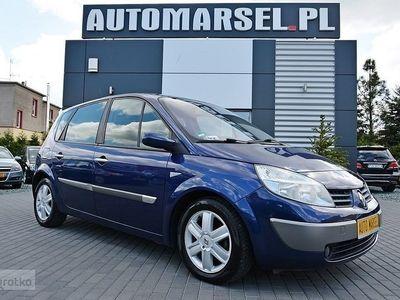 używany Renault Scénic II 1.6dm 113KM 2003r. 182 000km