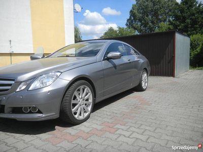 używany Mercedes E350 W207-coupe możliwa zamiana.