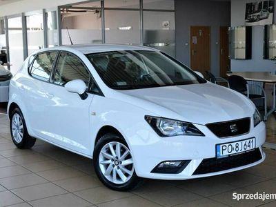 używany Seat Ibiza SalonPL 1.2TSI 105KM STYLE VAT23% Klimatronic Aluminiowe felgi