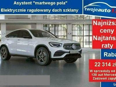 używany Mercedes GLC300 4MATIC Coupé, Linia AMG, Pakiet Premium Plus, Kamera 360+Alarm
