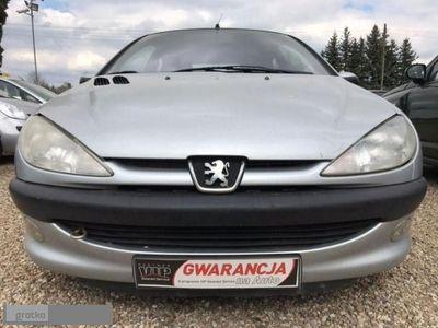 używany Peugeot 206 XA 2dm 90KM 2004r. 198 450km