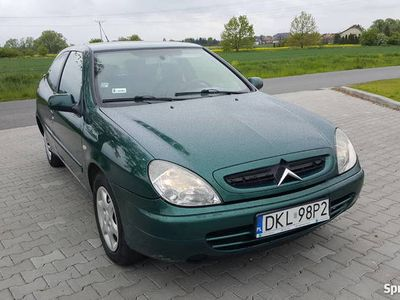 używany Citroën Xsara 2001r. 1.4 benzyna + gaz klimatyzacja elektry