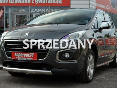 używany Peugeot 3008 Hybryda 200 KM 4x4, Serwis ASO, Gwarancja!!